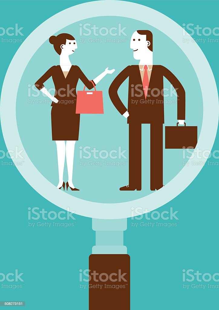 Human Resourcing | New Business Concept royalty-free stock vector art