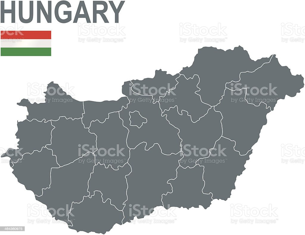 Hungary royalty-free stock vector art