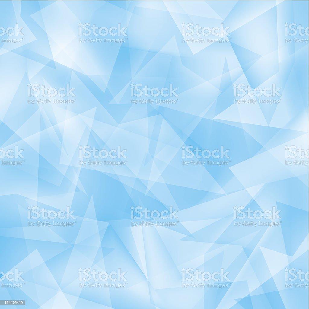 Ice blue calming beautiful background vector art illustration