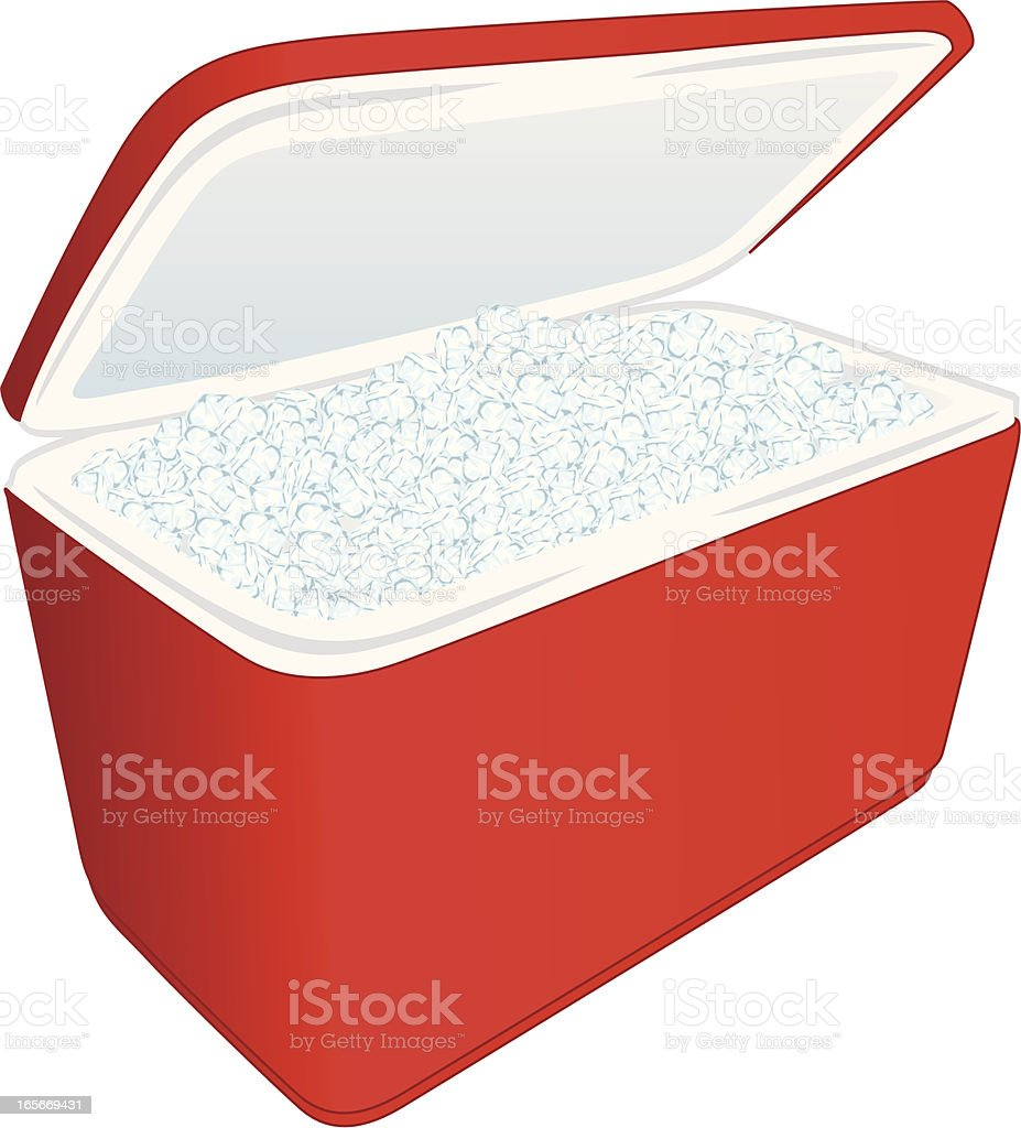 ice cooler royalty-free stock vector art