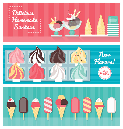 Ice Cream Cone Clip Art, Vector Images & Illustrations ...