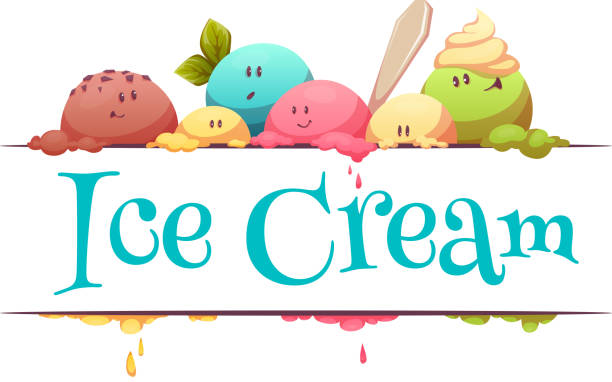 Ice Cream Clip Art, Vector Images & Illustrations - iStock