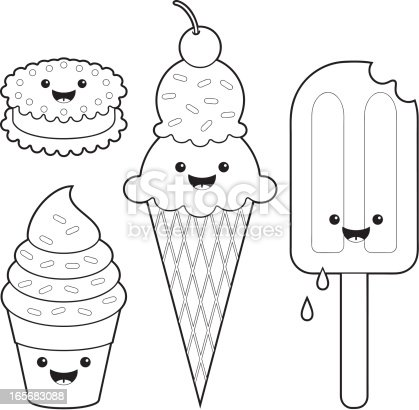 Summer Happy Cartoon Ice Cream Coloring Page moreover 070113 printable ice cream party invites s le further  moreover sketch clipart ice cream 12 besides ice cream fun kawaii coloring set vector id165683088 s 170667a as well 100405094158f41d45d3174639 additionally  further  in addition lightbulb furthermore  moreover ice cream coloring pages mini 64. on free printable ice cream cone coloring pages