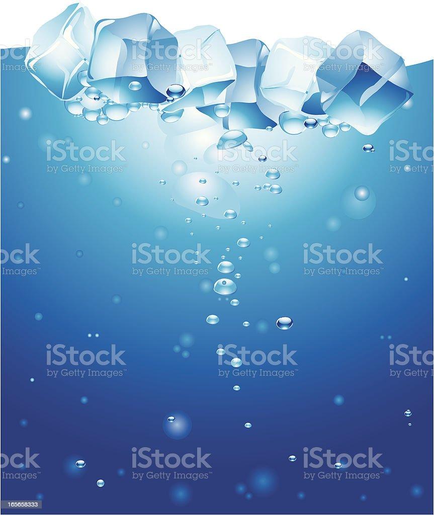 Ice Cube vector art illustration