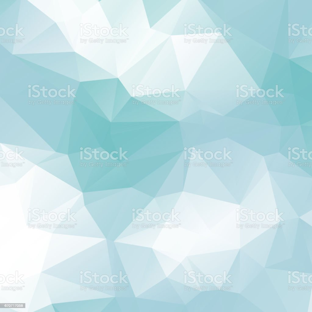 ice low poly background vector art illustration