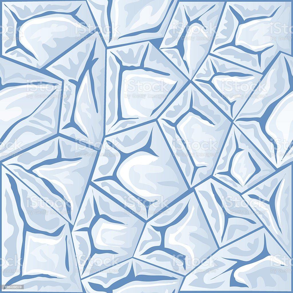 ice seamless pattern royalty-free stock vector art