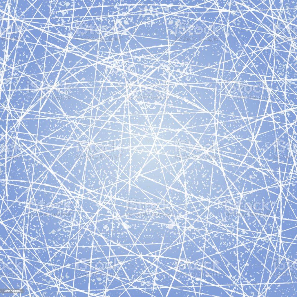 Ice texture background vector art illustration