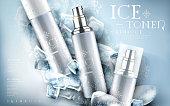 ice toner ad light blue