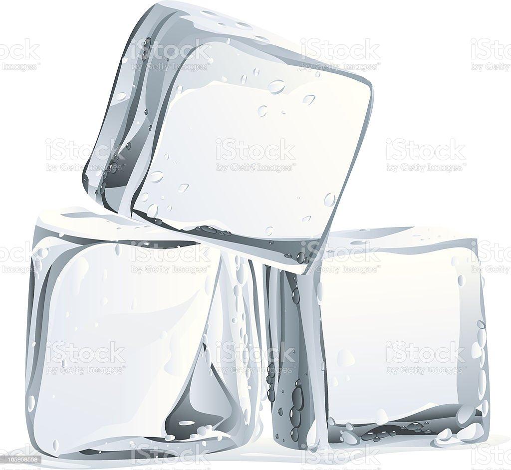 ice vector art illustration