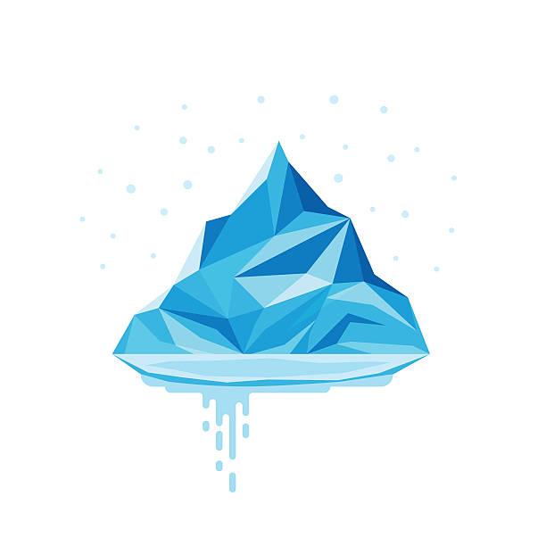 Glacier clip art vector images illustrations istock for Clipart iceberg