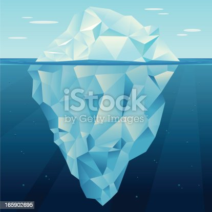 Iceberg Vector Stock Vector Art 165902695 Istock