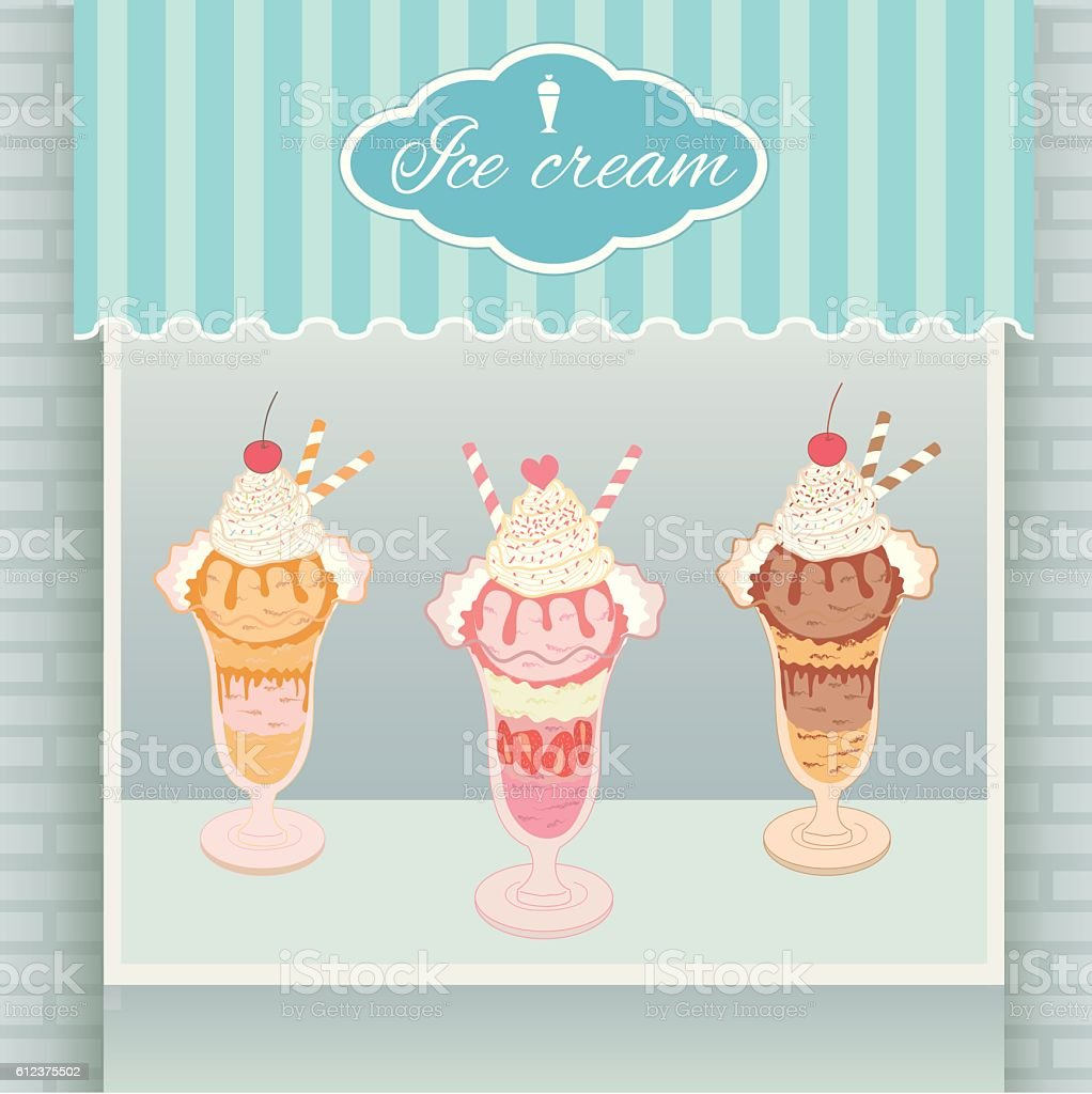 dairy product food food and drink heart shape home showcase interior ice cream cyan cafe - Cyan Cafe Interior