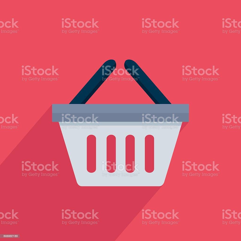 Icône de panier stock vecteur libres de droits libre de droits