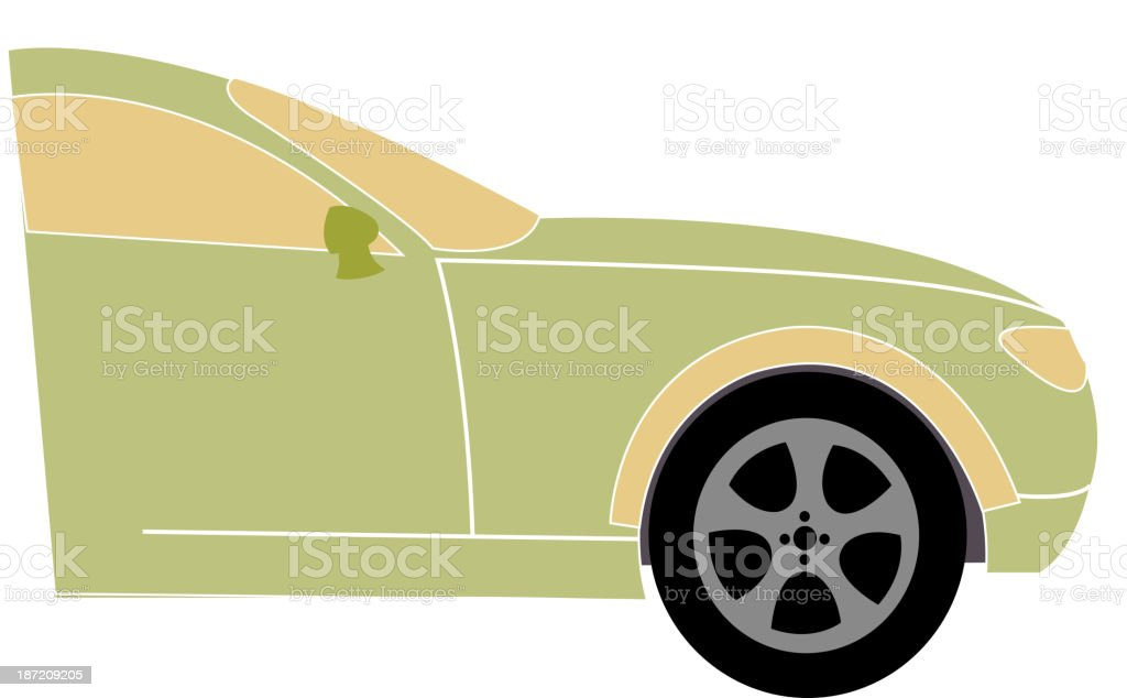 icon car royalty-free stock vector art