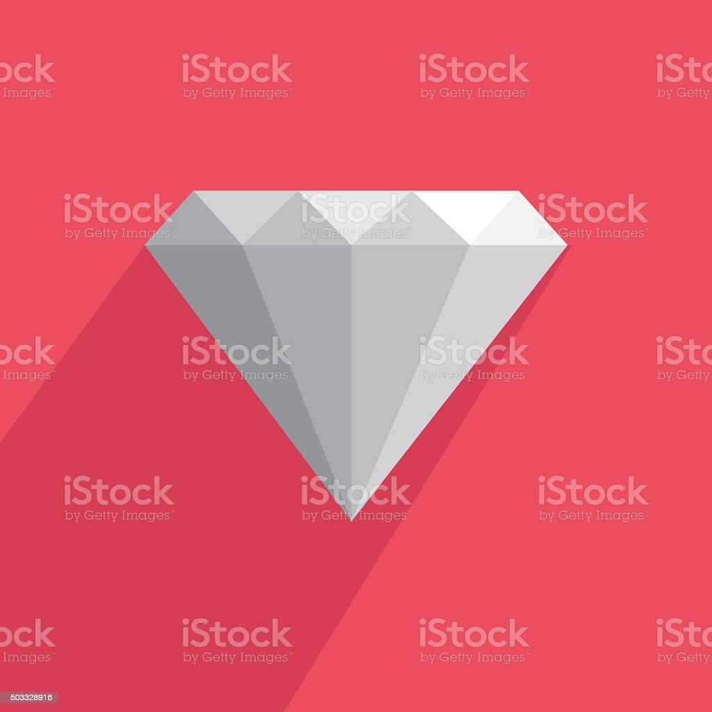 Icône diamond stock vecteur libres de droits libre de droits