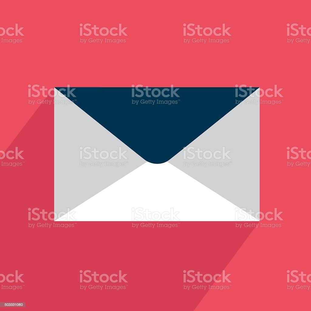Icône courrier électronique stock vecteur libres de droits libre de droits