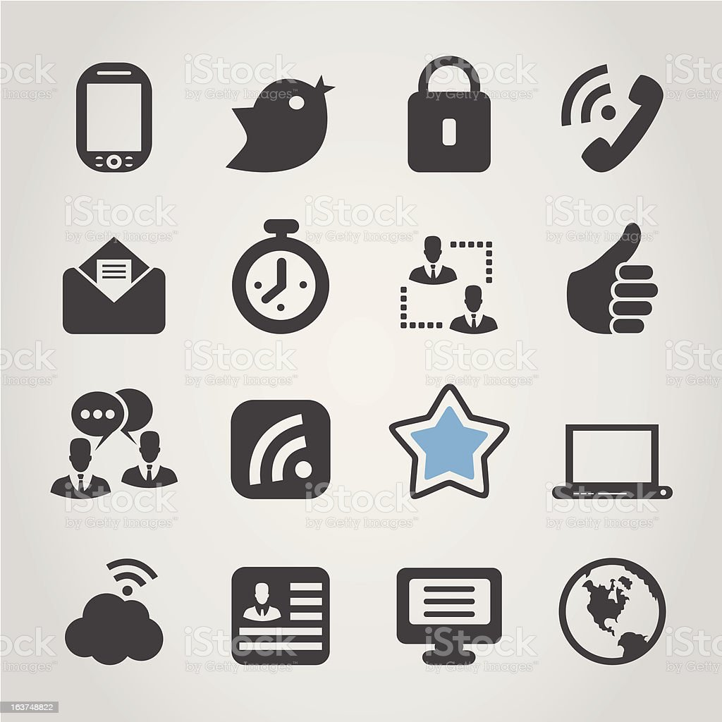 Icon for web royalty-free stock vector art