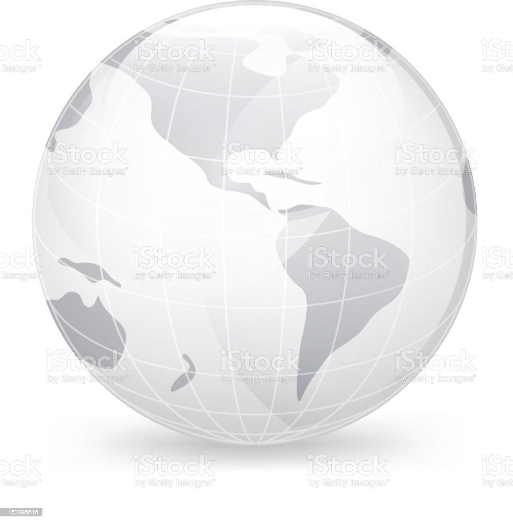 Icon Globe royalty-free stock vector art