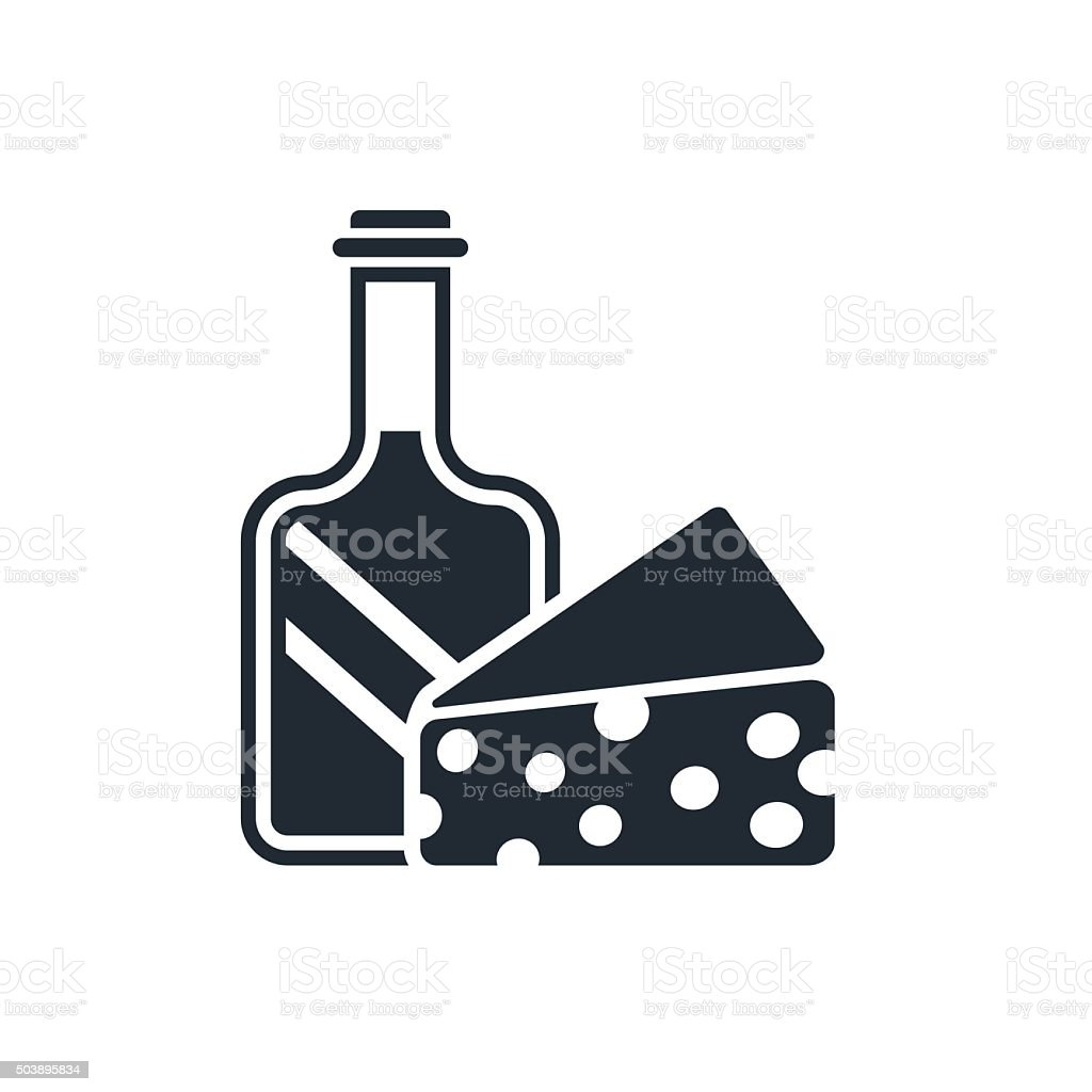 icon grocery store vector art illustration