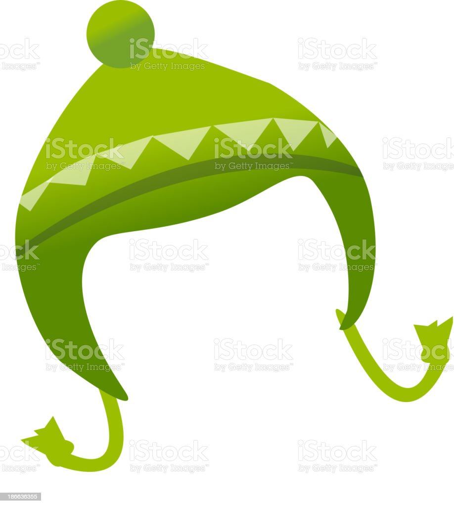 icon hat vector art illustration