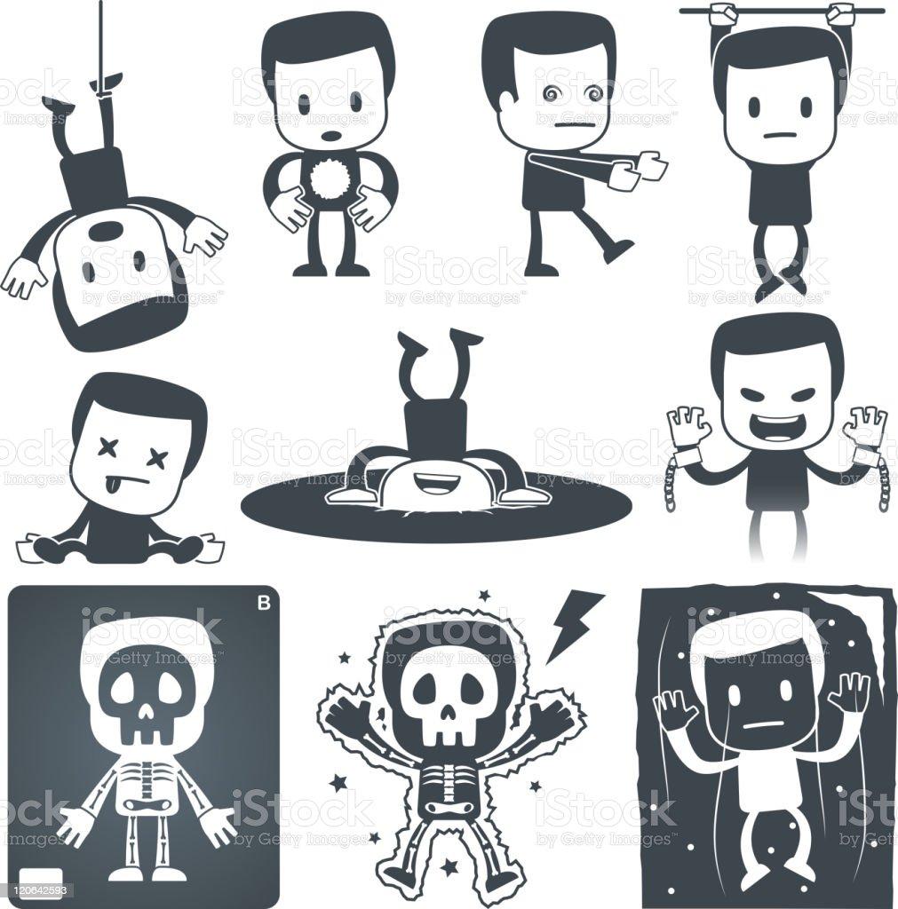 Icon man royalty-free stock vector art