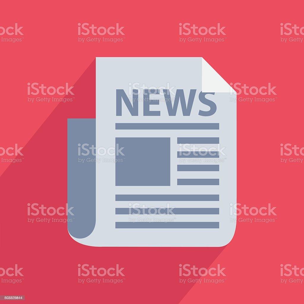 Icône d'actualités stock vecteur libres de droits libre de droits