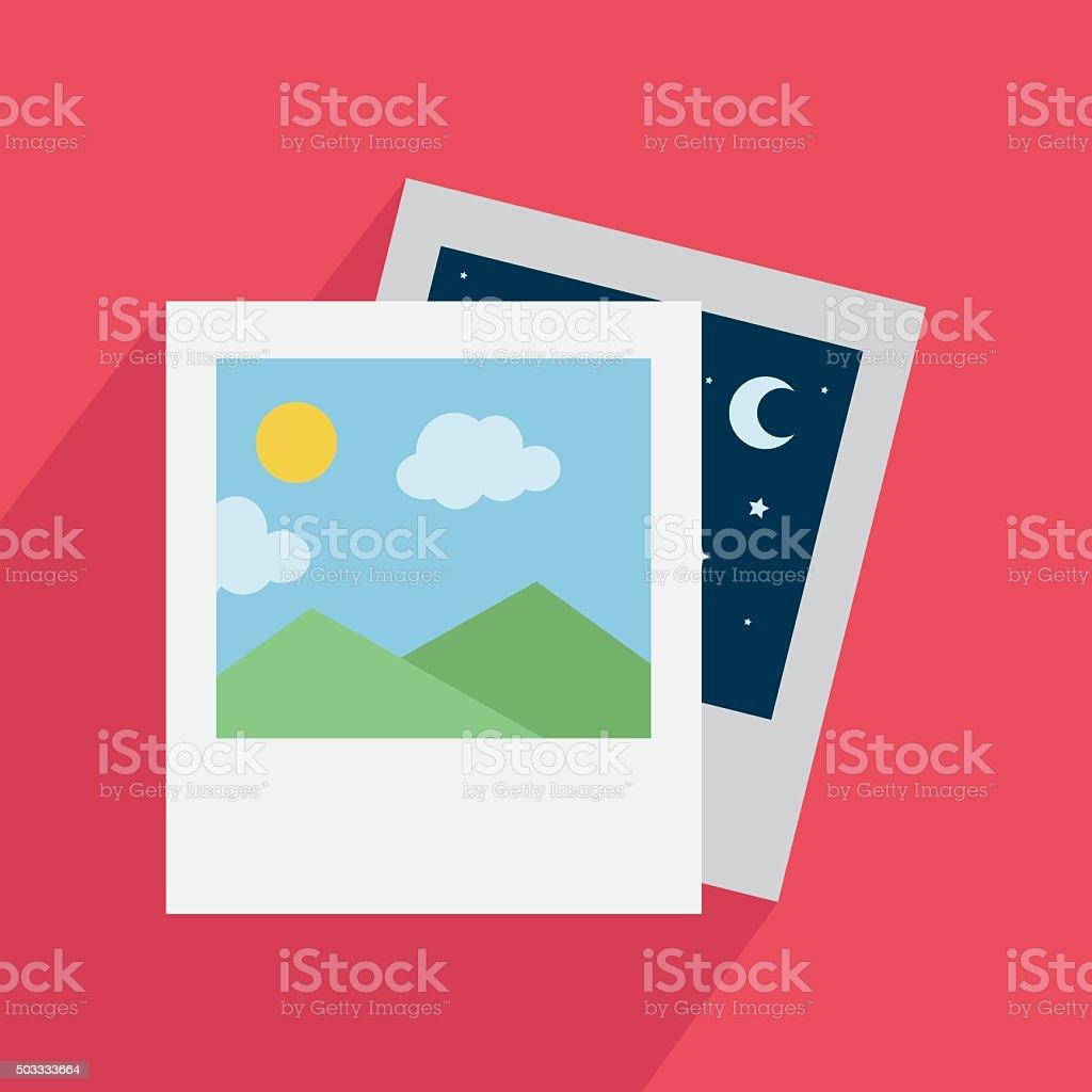 Icône de photo stock vecteur libres de droits libre de droits