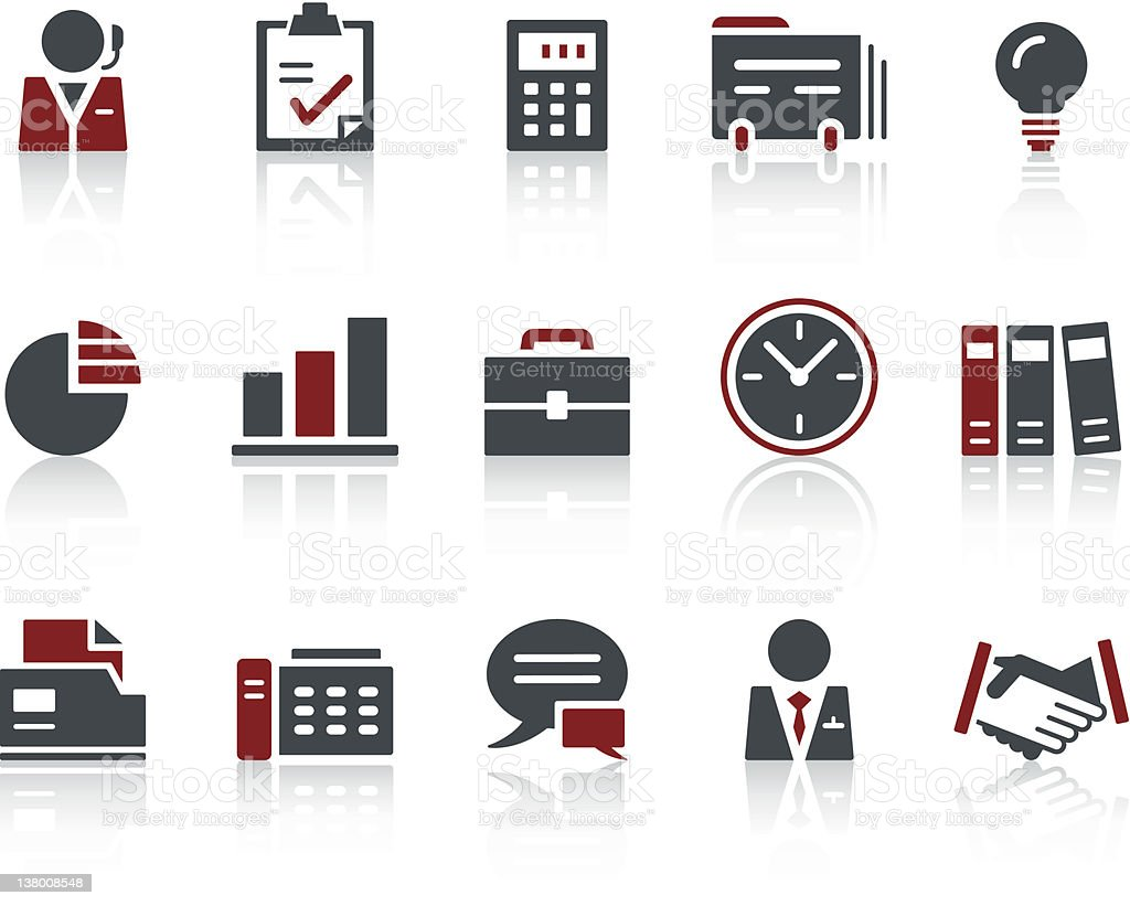 COPO Icon Series - Business & Office royalty-free stock vector art