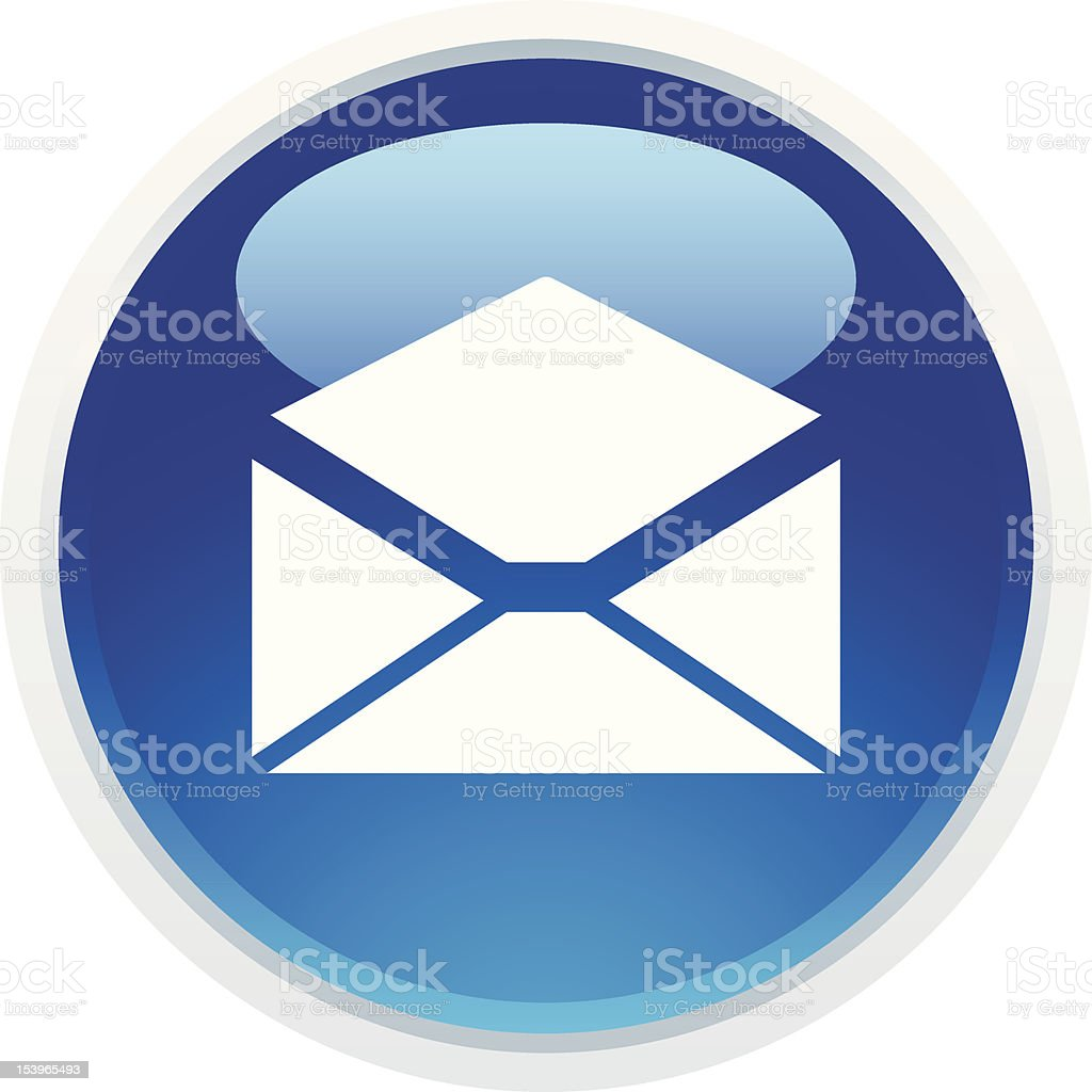 'BLUCO' Icon Series | Email royalty-free stock vector art
