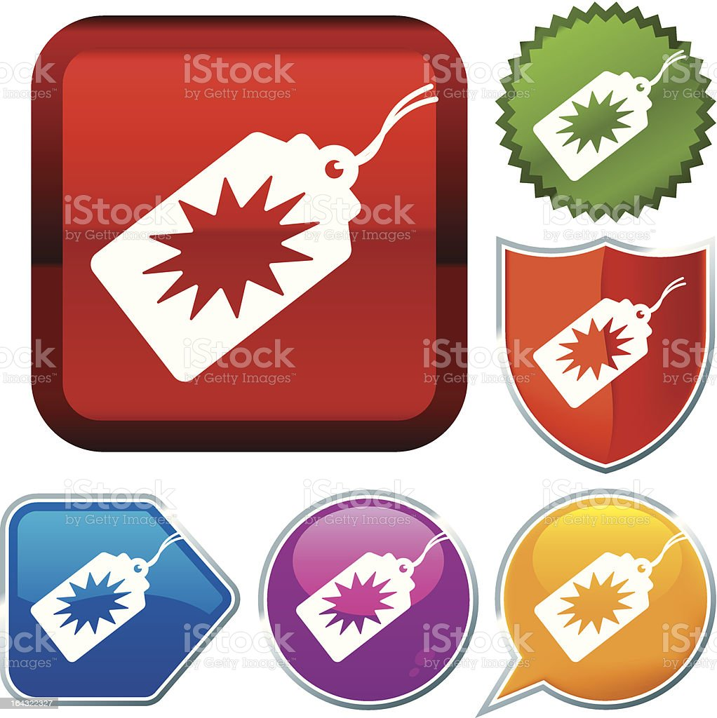 icon series: offer royalty-free stock vector art