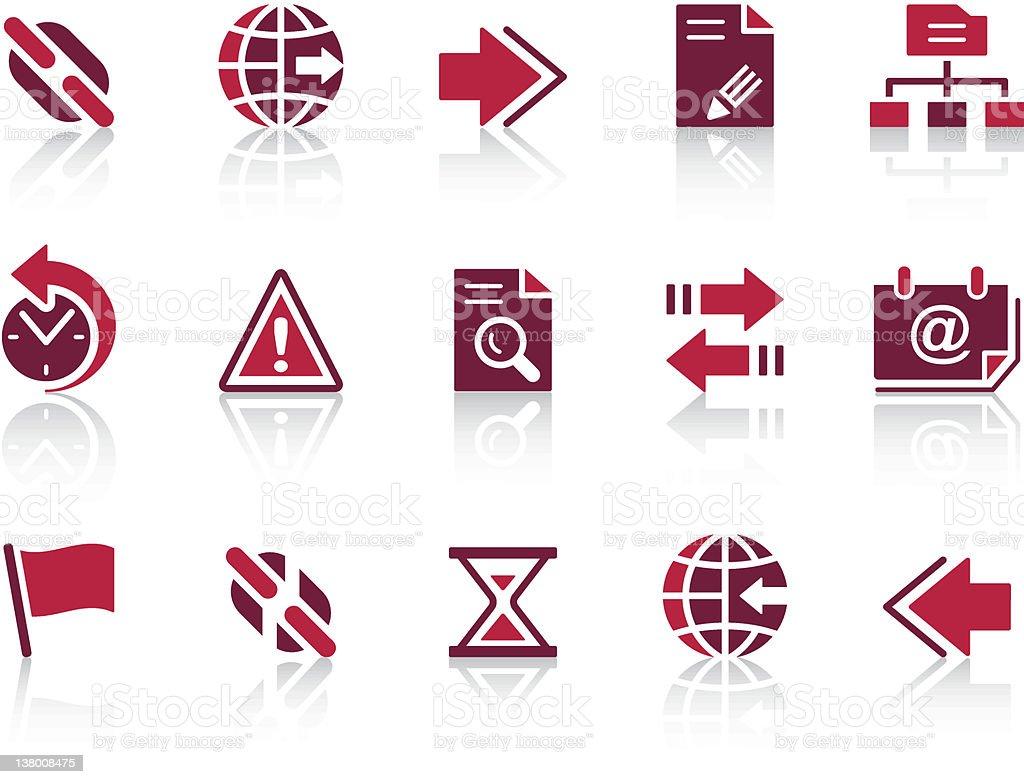'REPRO' Icon Series - Web & Internet royalty-free stock vector art