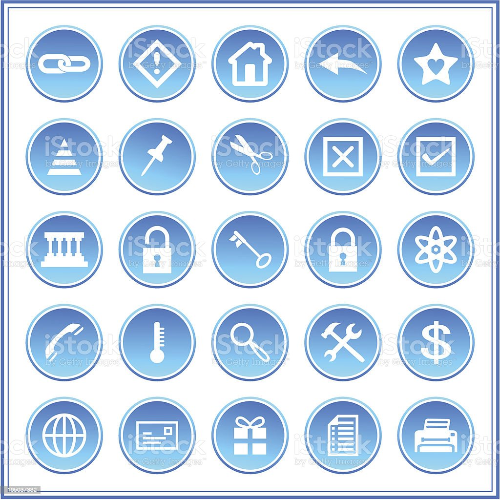 Icon set 008, Vector royalty-free stock vector art