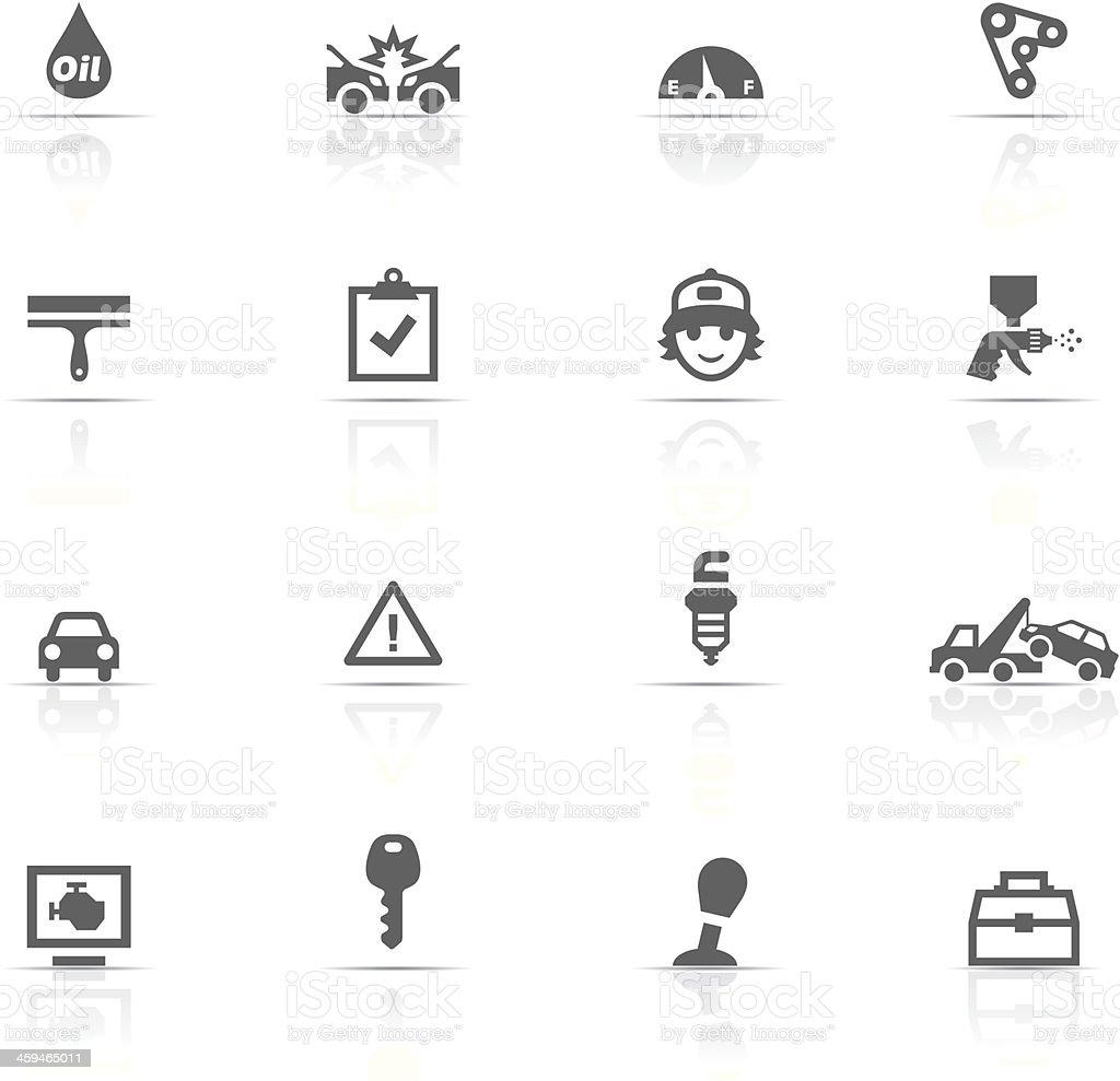 Icon Set, Auto Service royalty-free stock vector art