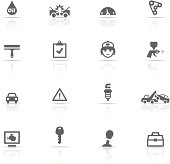 Icon Set, Auto Service