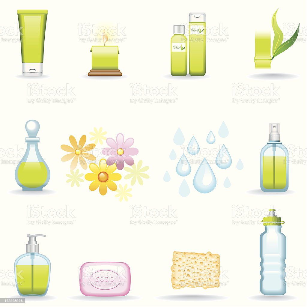 Icon Set, Beauty royalty-free stock vector art