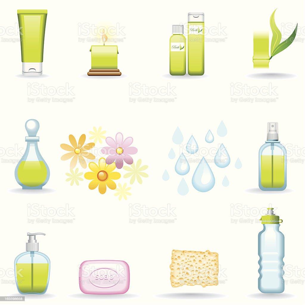 Icon Set, Beauty vector art illustration