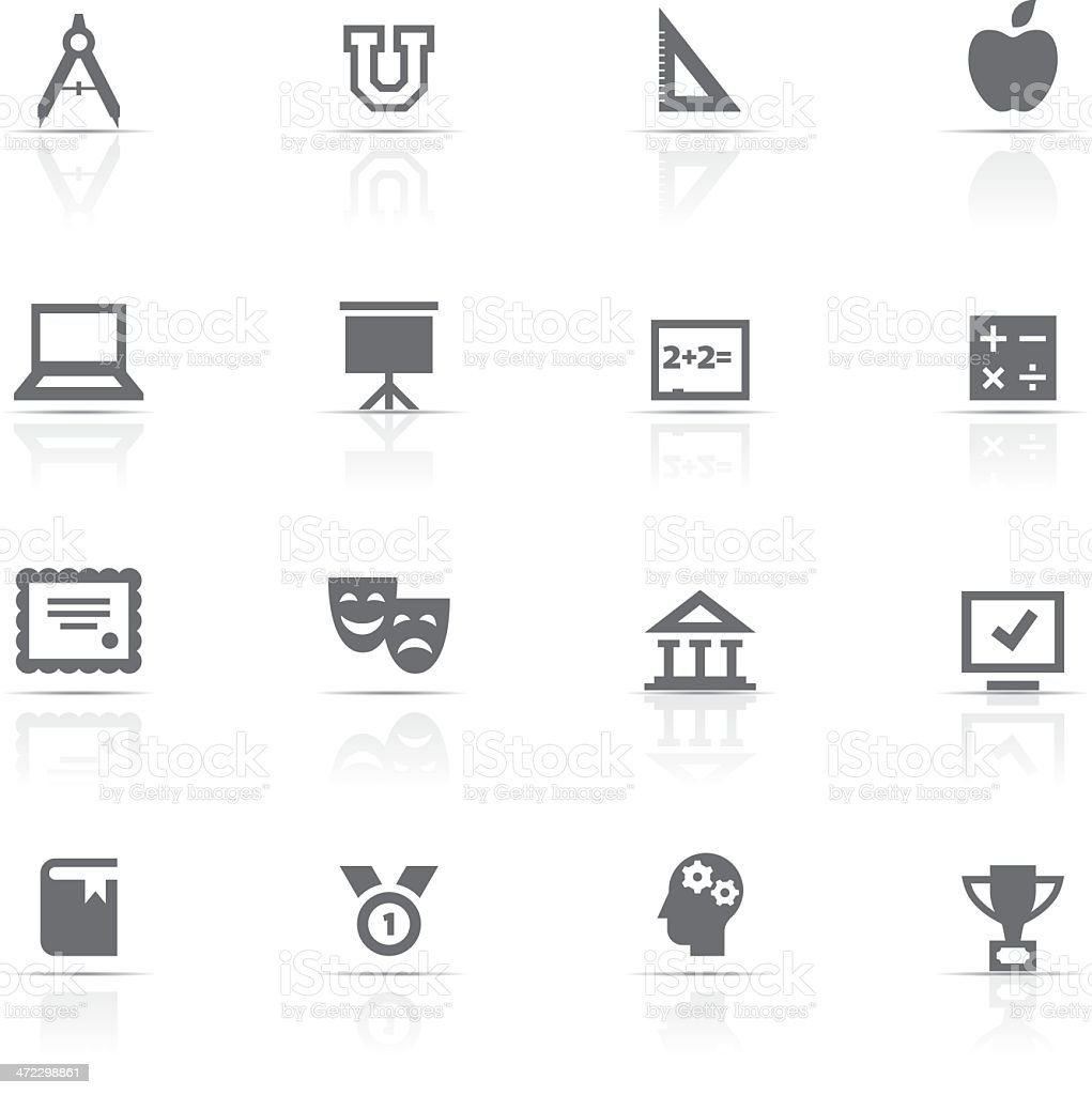 Icon Set, Education royalty-free stock vector art