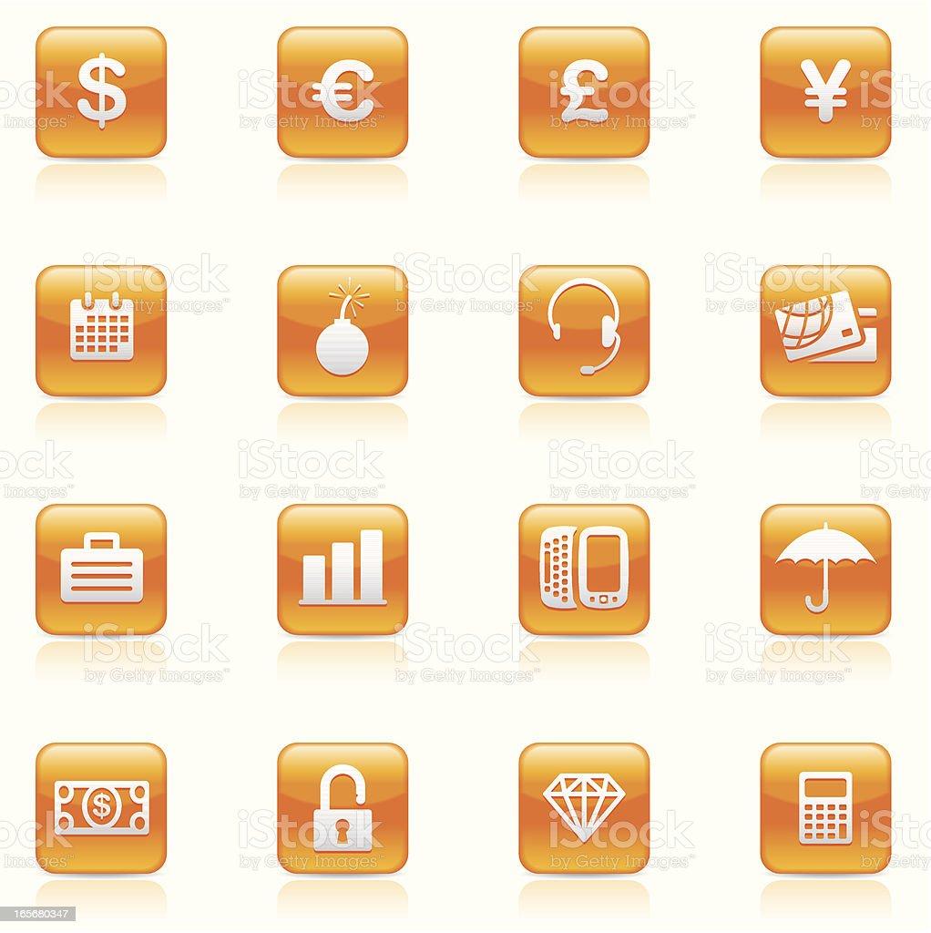 Icon set, Finance royalty-free stock vector art