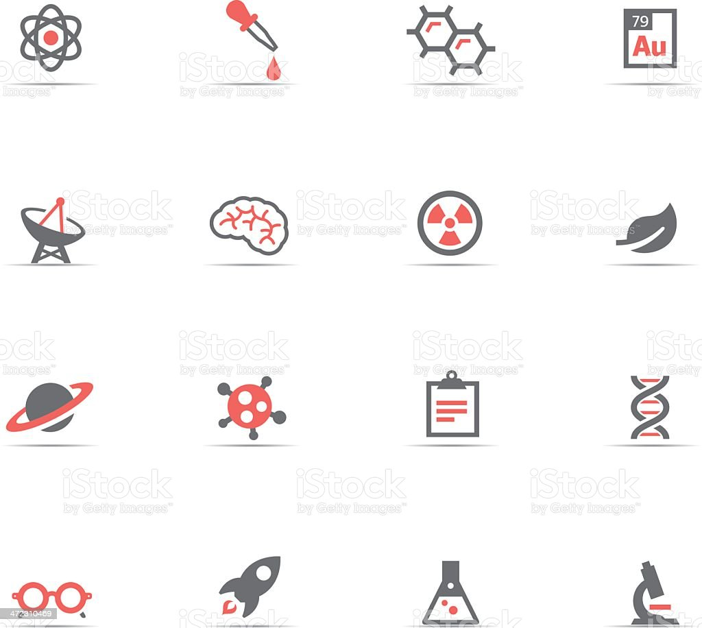 Icon Set, Science royalty-free stock vector art