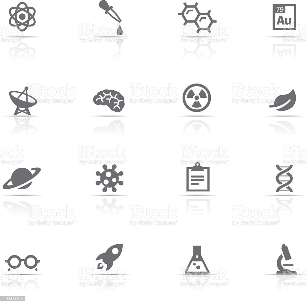 Icon Set, Science vector art illustration
