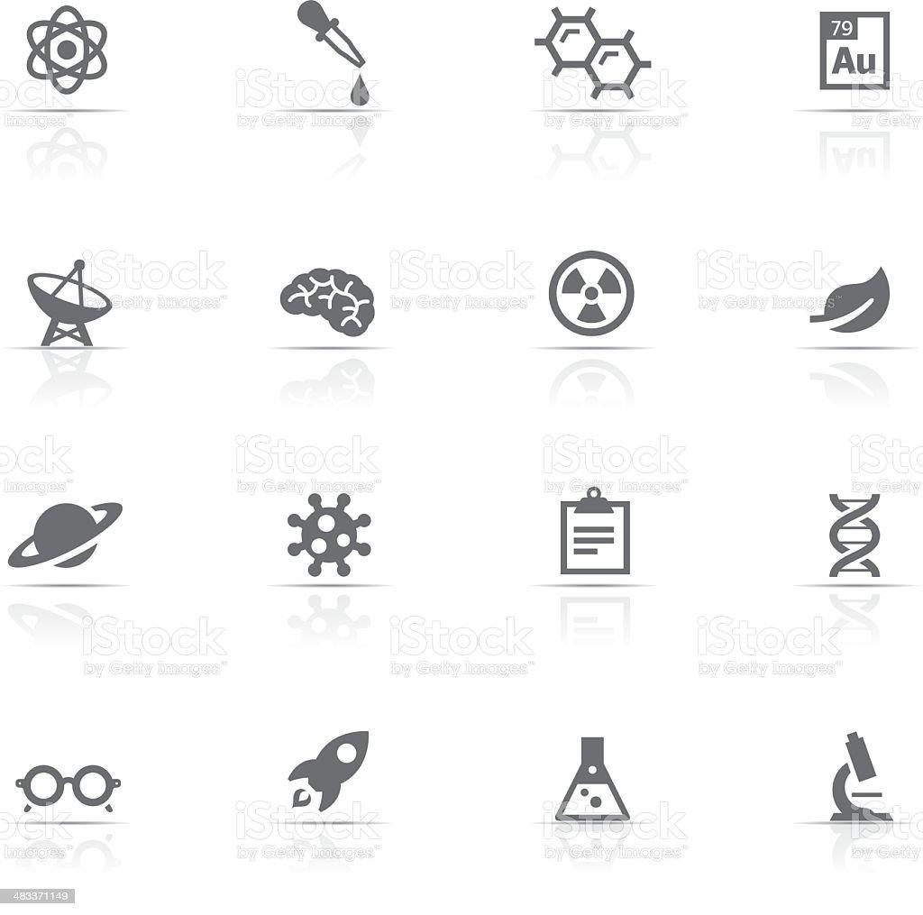 Icon Set, Science vector art illustration