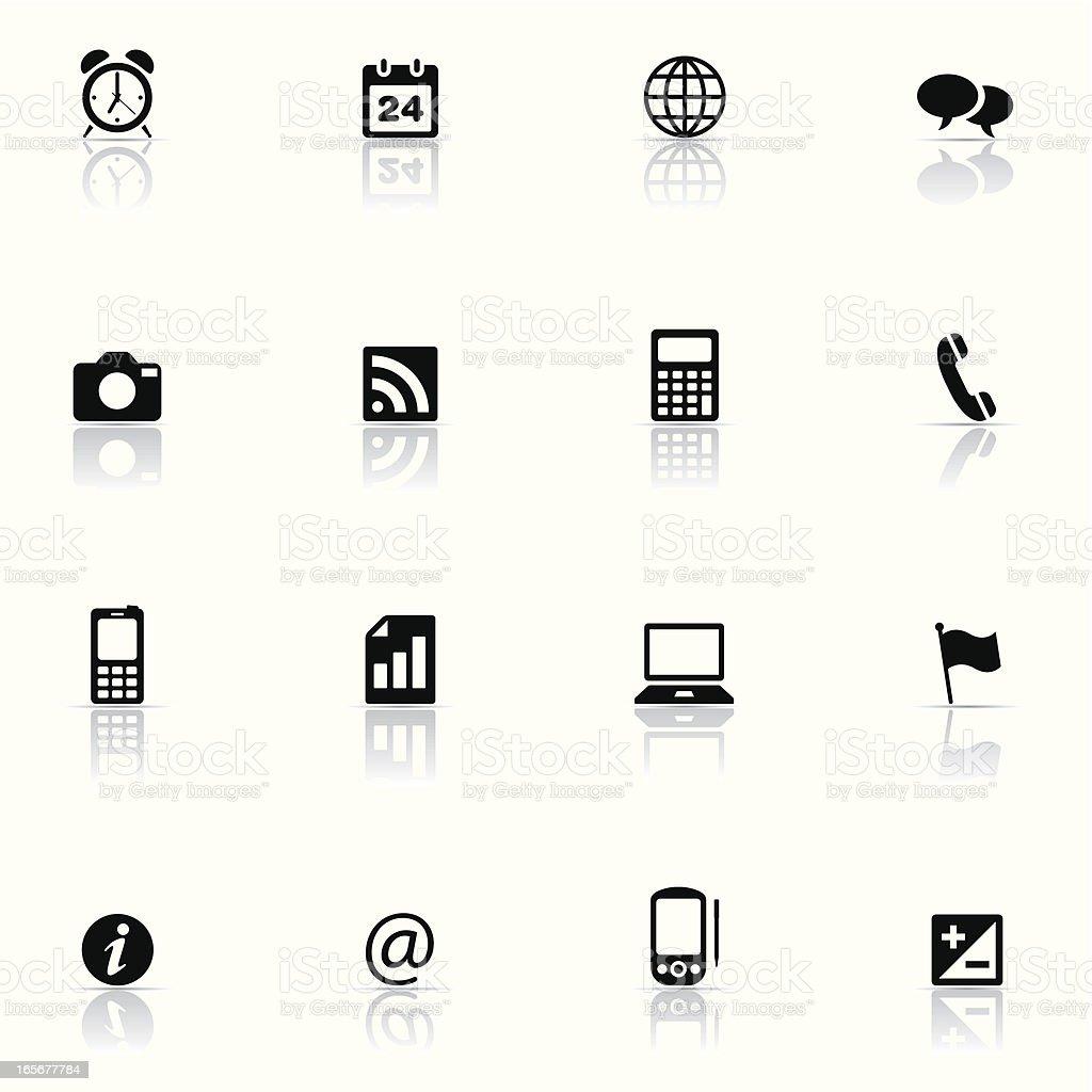Icon set, Tehcnology royalty-free stock vector art