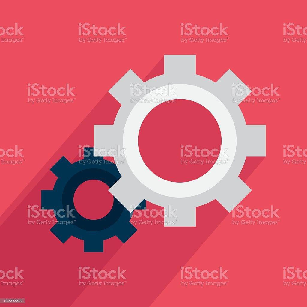 Icône de Paramètres stock vecteur libres de droits libre de droits