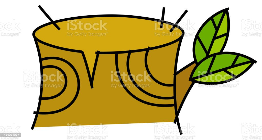 icon trunk royalty-free stock vector art