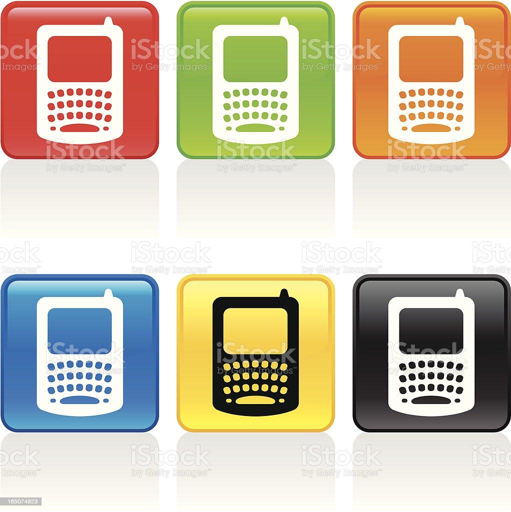 PDA Icon royalty-free stock vector art