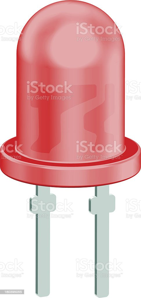 LED icon royalty-free stock vector art