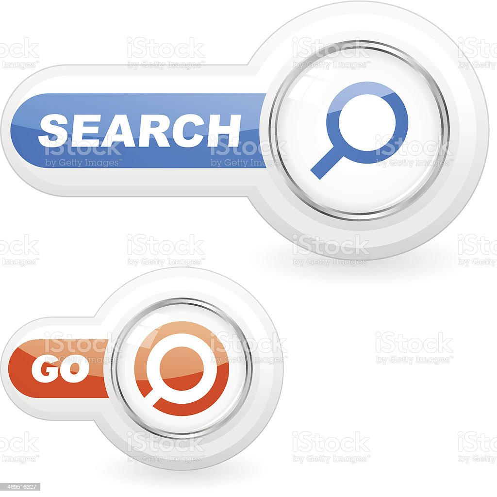 SEARCH icon. royalty-free stock vector art