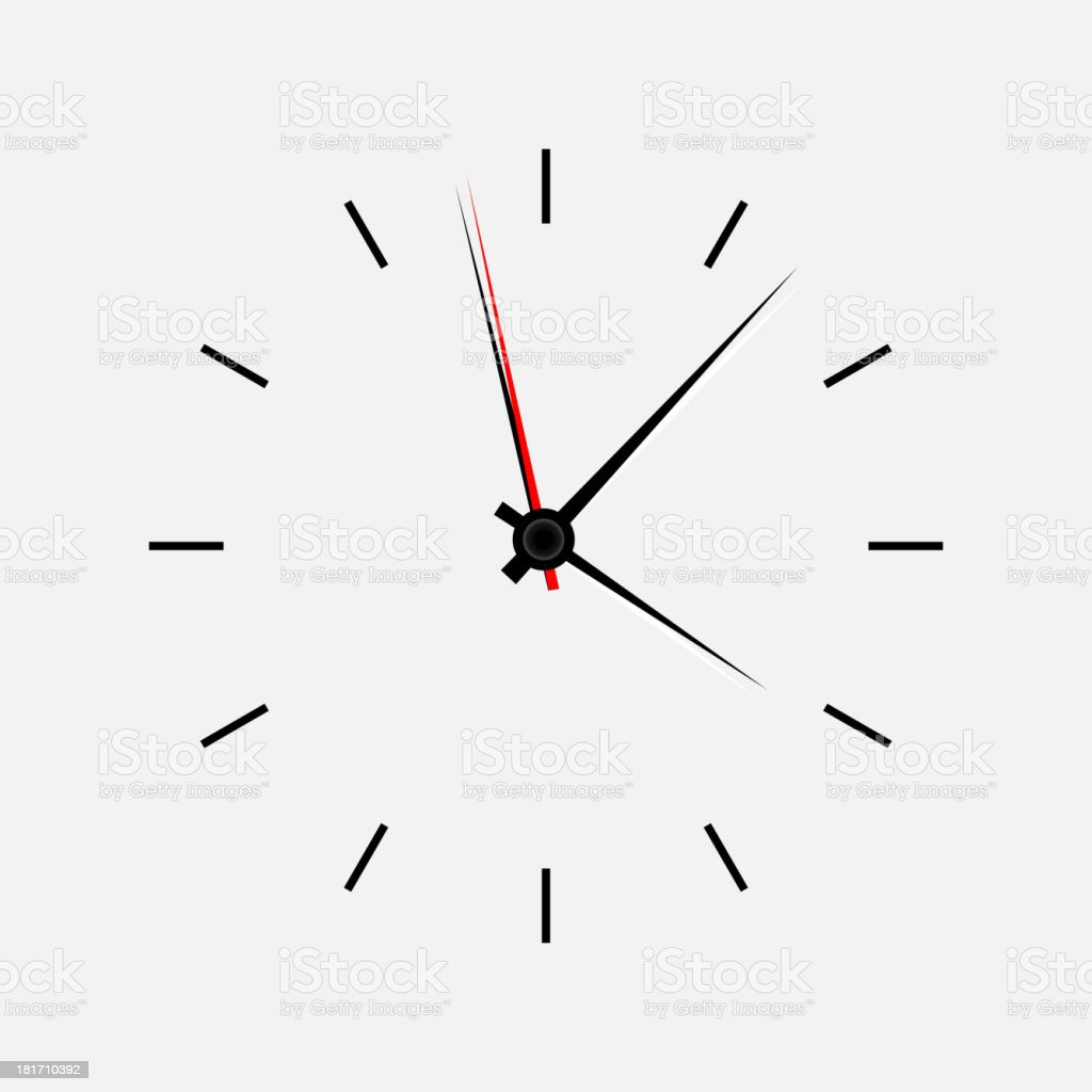 Icon watch vector illustration royalty-free stock vector art