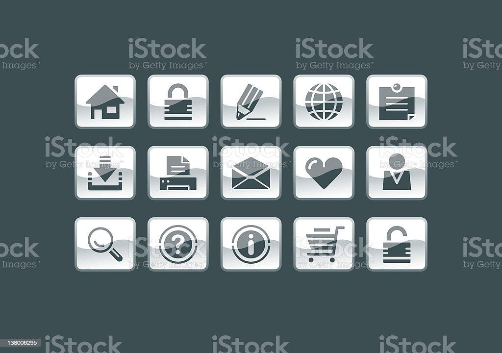 Icon - Web & Internet royalty-free stock vector art
