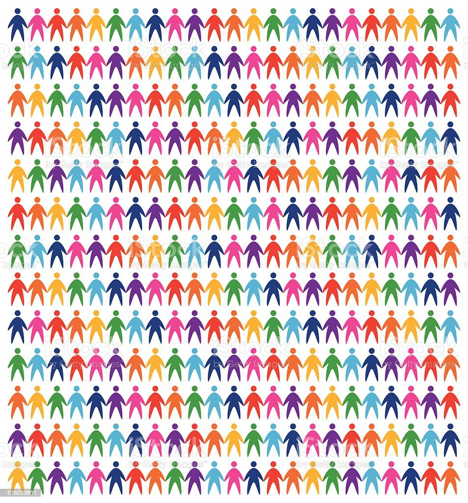 icons people background vector art illustration